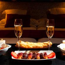 романтическая ночь в отеле